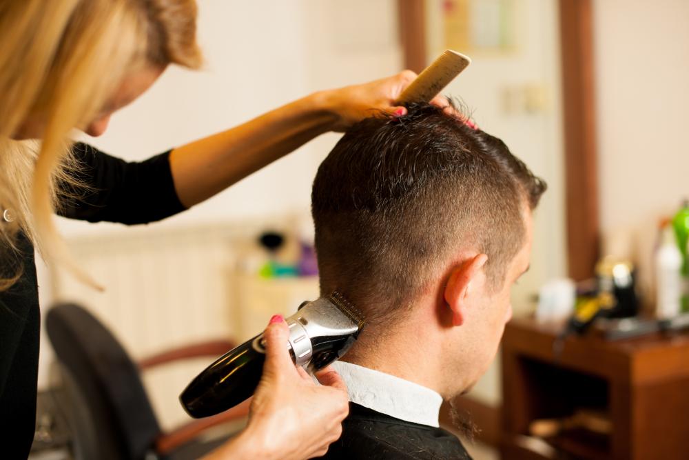 Female barber