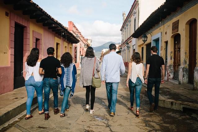 andador San Cristóbal de las Casas