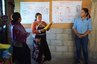 voluntariado diseño textil en comunidad