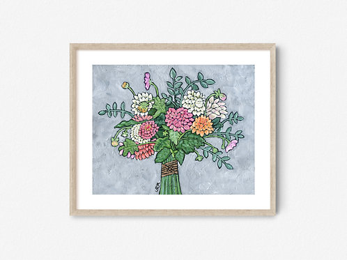 Market Bouquet Print