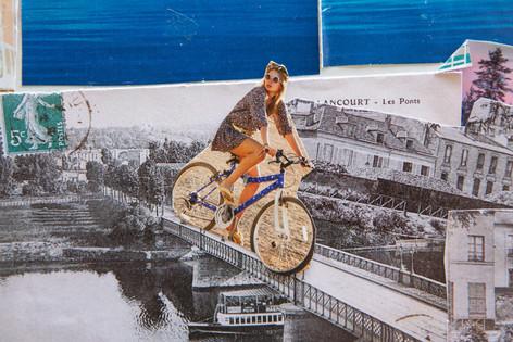 a vélo sur les quais