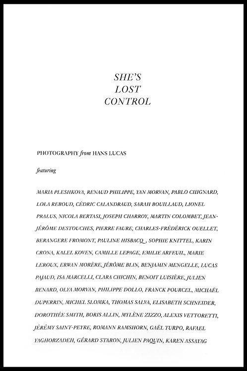 She's Lost Control #1 - Hans Lucas