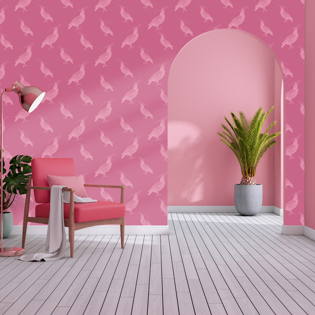 FANY PIGEON | Pale Pink on Punch