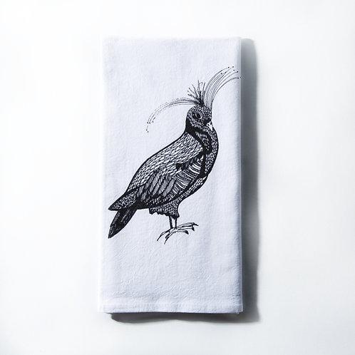 FANCY PIGEON KITCHEN TOWEL