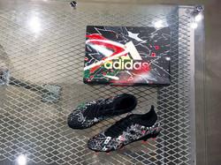 Adidas Shoes&Box Painting