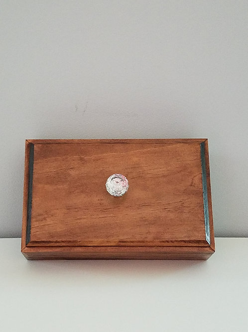 Wood Gift Box with Lid