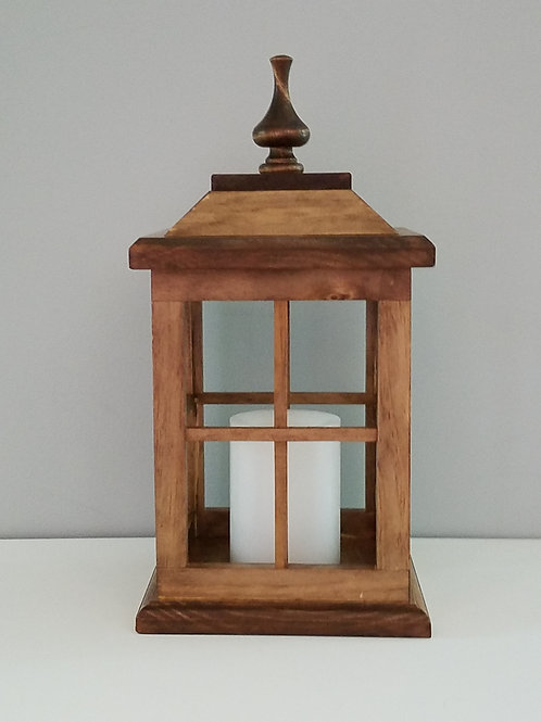 Solid Wood Lantern