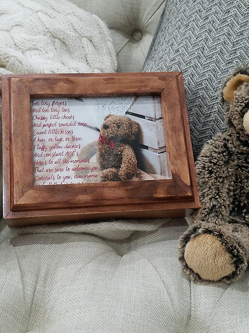 Baby Keepsake Photo Box