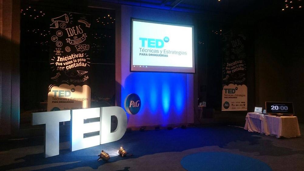 TED Tecnicas y Estrategias. Salon Real