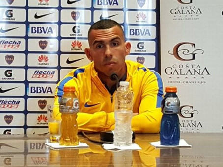 Conferencia de Prensa Boca Juniors