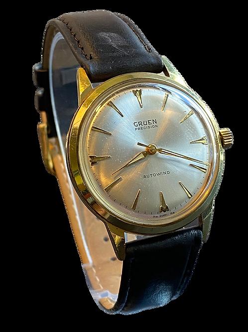Gruen Precision Autowind 1960's Gents Dress Watch