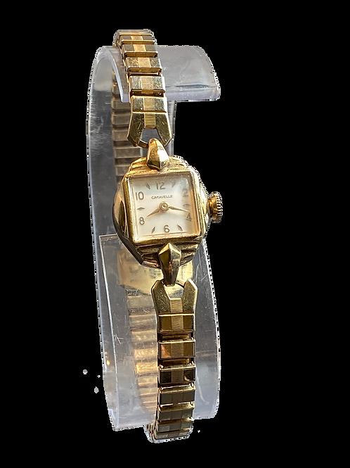 Caravelle 1950's Ladies Bracelet Watch