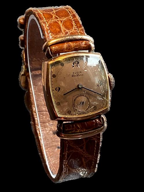 Elgin De Luxe Gents Dress Watch c.1947