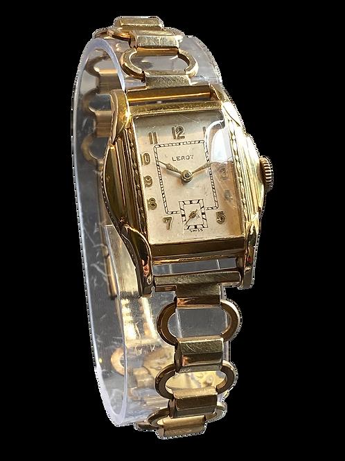 Leroy Gents Deco Style Watch on Bracelet