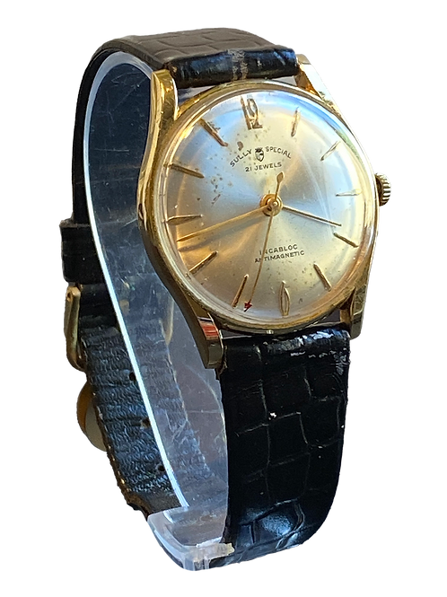 Sully Special 18ct Gold 1960's Gents Dress Watch