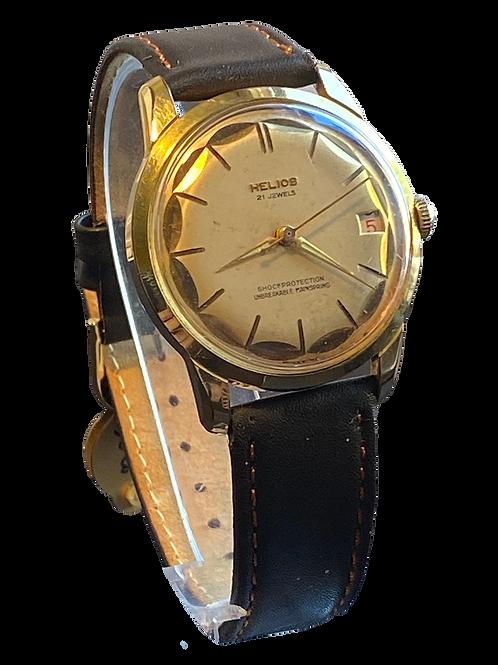 Helios 1960's Gents Dress Watch
