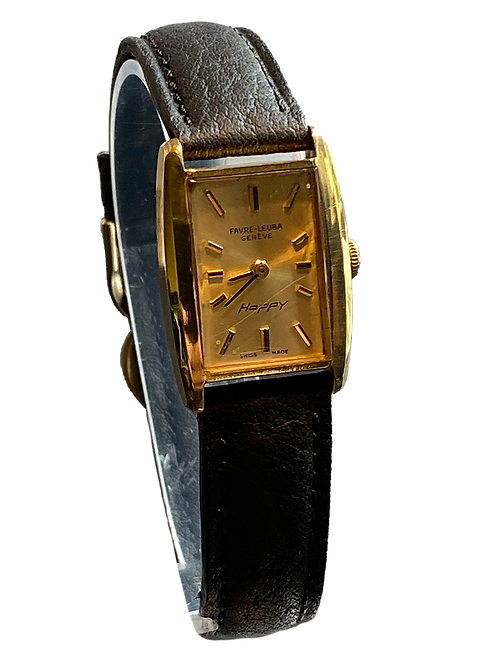 Favre Leuba Geneve  'Happy' 1960's Ladies Watch