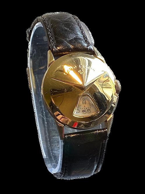 Lord Elgin Chevron Jump Hour Watch c.1957
