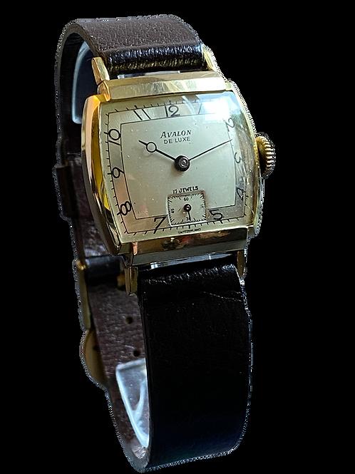 Avalon Gents 1950's Gents Dress Watch