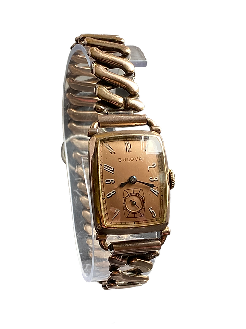 Bulova Spencer Gents Dress Watch On Bracelet 1941