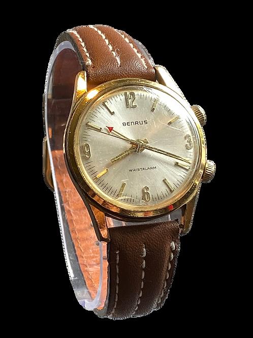 Benrus Gents Alarm Watch 1970's