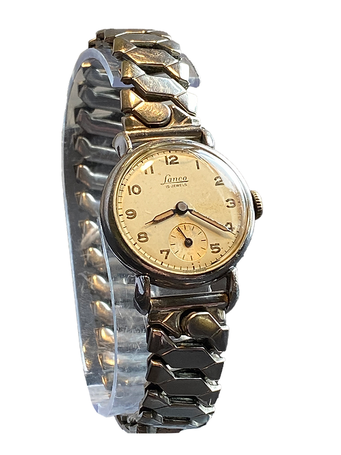 Lanco Mid Size Gents/ Ladies 40's Military Style Watch