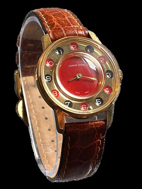 Casino Royal Gents Novelty Watch 1970's