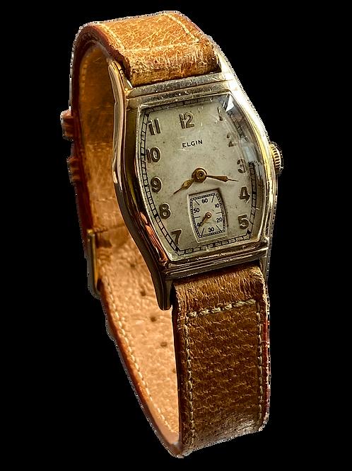 Elgin USA Gents Tonneau Dress Watch c.1937