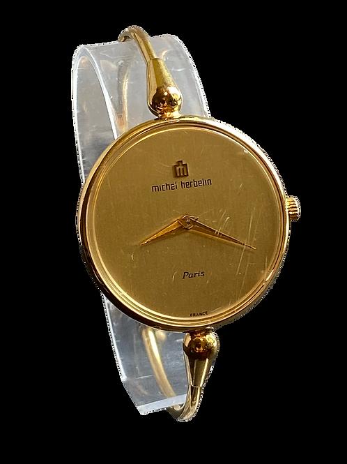 1960's Ladies Michel Herbelin Bangle Watch