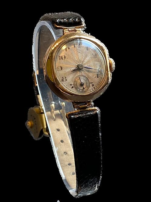 1924 Ladies  9ct Gold Dress Watch