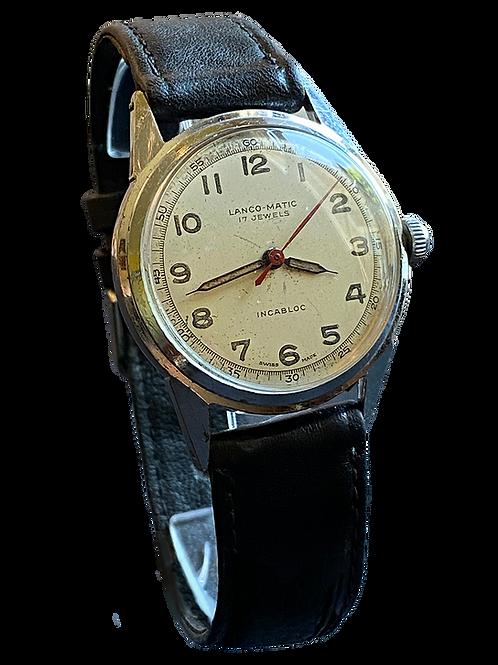 Lanco-Matic ( Langendorf Watch Co) Bumper  Gents Dress Watch c.1957