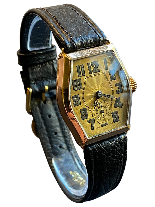 Art Deco 1920's Gents Dress Watch
