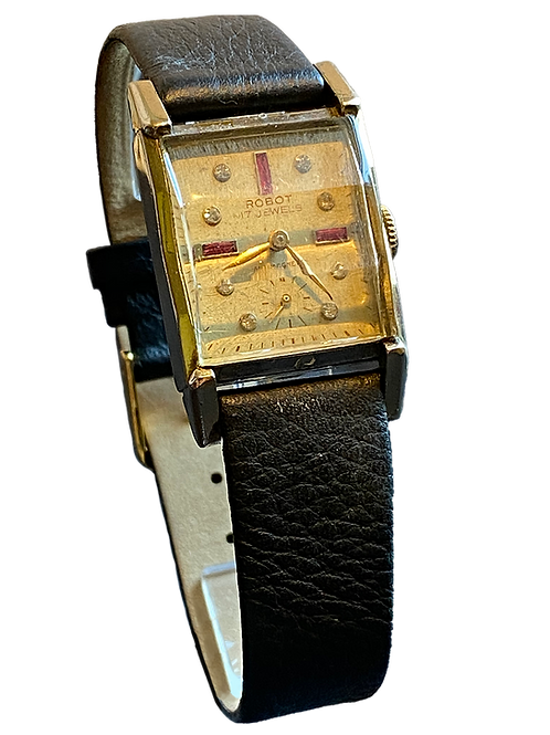 Robot 1950's Gents Cocktail Watch