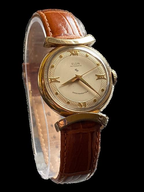 1950's Elgin Neptune Shockmaster Gents Automatic Dress Watch
