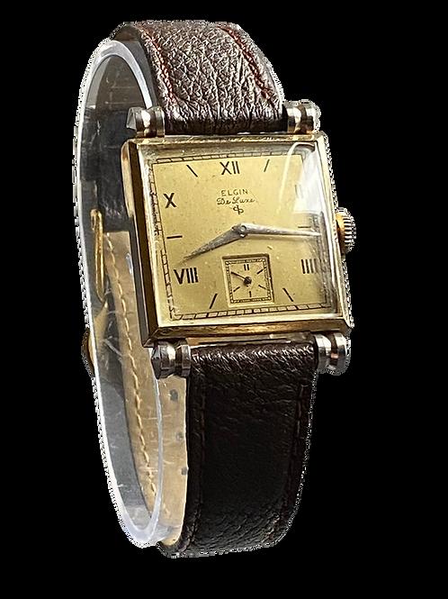 Elgin De Luxe Gents 1940's Dress Watch