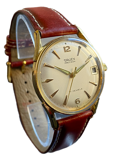 Gruen Precision 1960's Gents Dress Watch