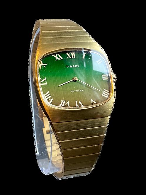 Tissot Stylist Gents 1970's Bracelet Watch