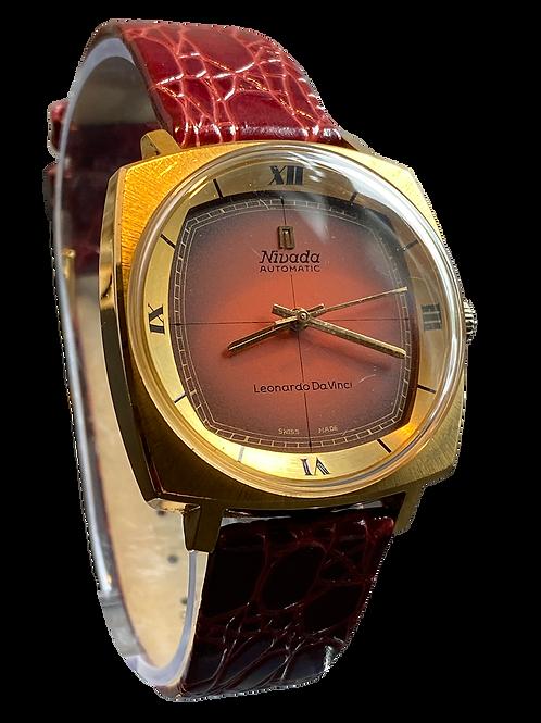 Nivada Leonardo  Da Vinci Gents 1970's Automatic Watch