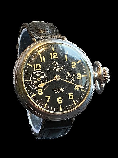 Soviet Russian UM Kupoba Military Pilots  Watch