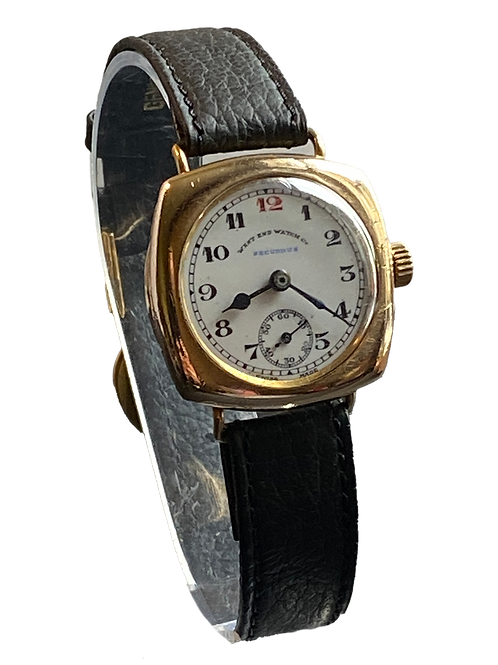 West End Watch Co c.1938 Gents Military Watch