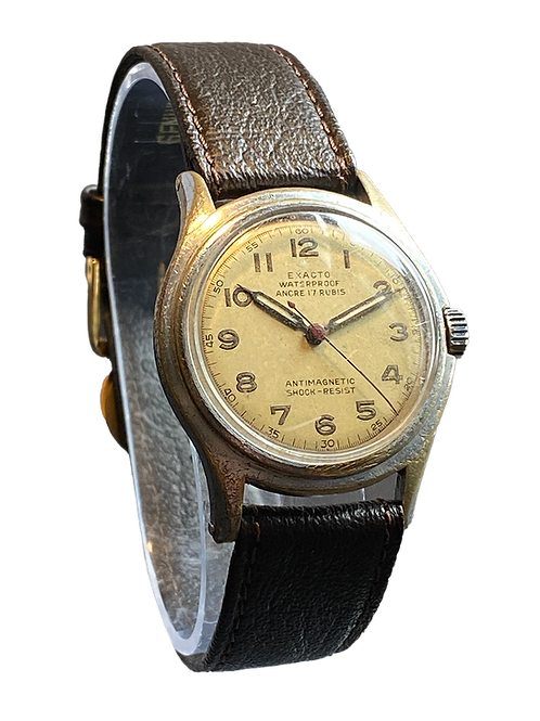 Exacto ( Rado) WW2 Gents Military Watch