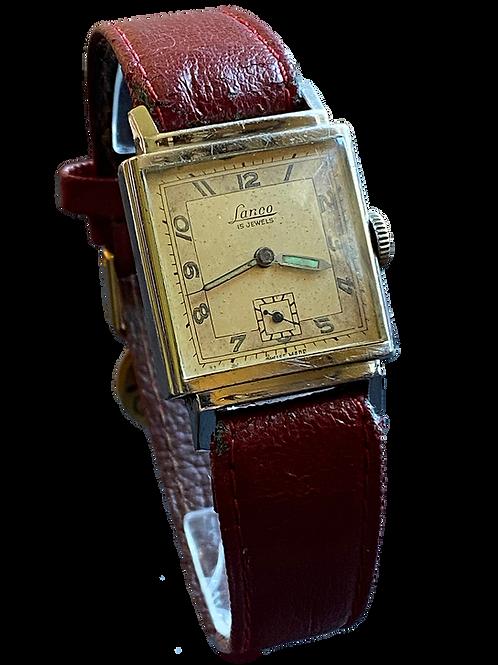 Lanco (Langendorf Watch Co)  1940's Gents Dress Watch