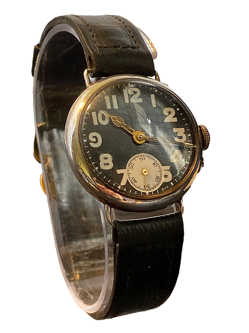 Sterling Silver Trench Watch 1939