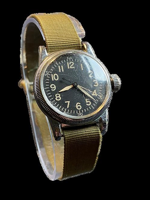 Elgin A-11 WW2 USAAF Navigator Hack Watch