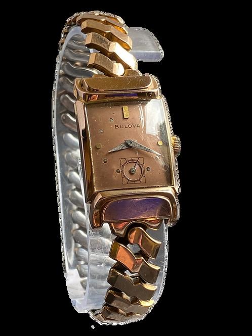 Bulova Squadron Gents Dress Watch on Bracelet 1945