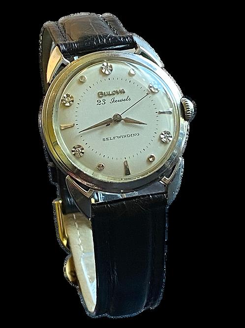 Bulova 23 Beau Brummell JJW 1959  Diamond set dial Gents
