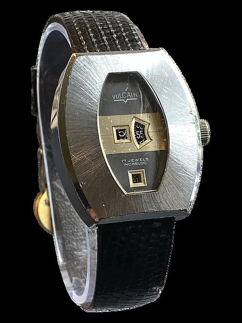 Vulcain Jump Hour / Date Gents 1970's Watch