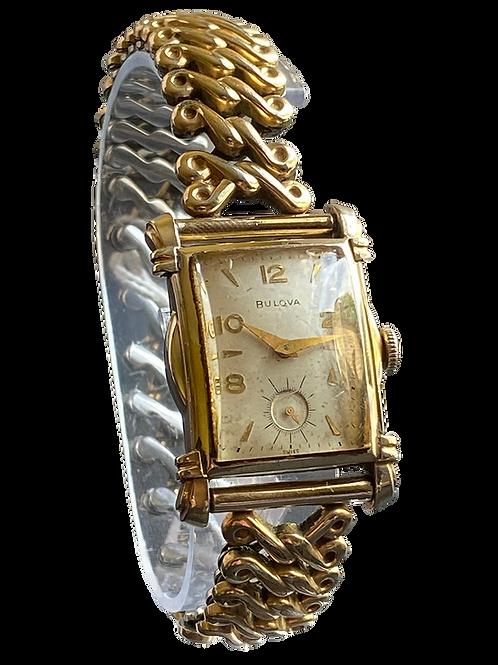 Bulova Byron Gents Dress Watch On Bracelet 1952