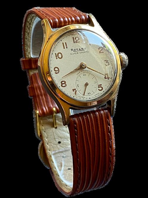 Rotary Super Sports Gents 1950's Dress Watch