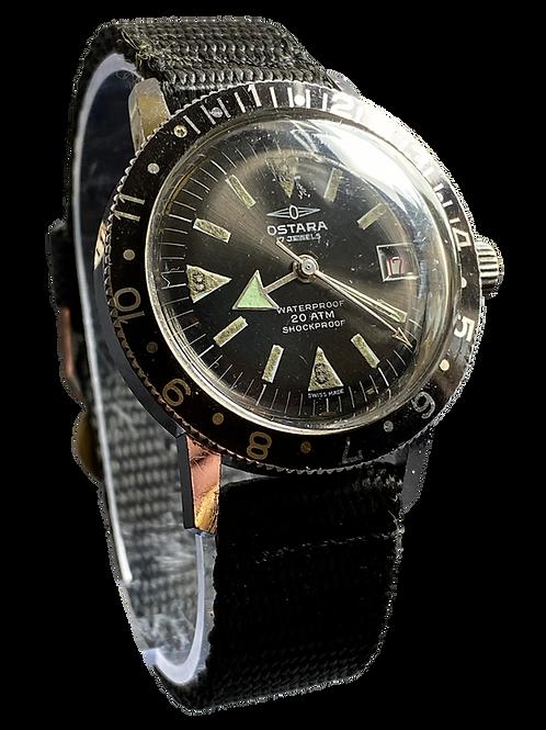 Ostara Gents 1970's Divers Watch